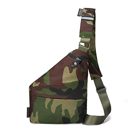 N-B Casual Messenger Bag, Chest Bag, Shoulder Bag, Multi-pocket Messenger Bag, Men's Backpack, Ladies' Backpack, Anti-theft, Waterproof Multi-function Backpack
