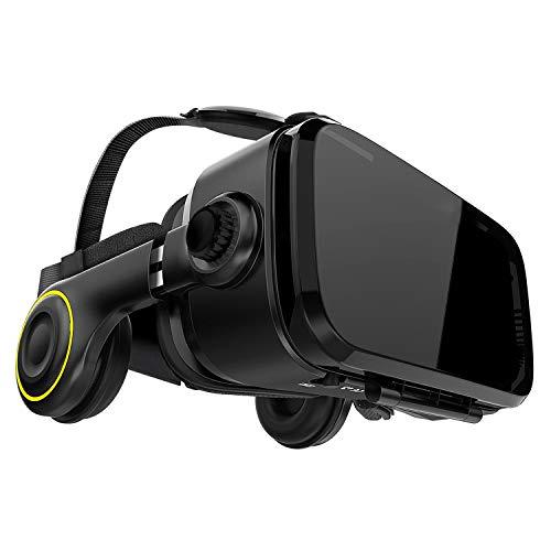 Hi-SHOCK PREMIUM VR-Brille - X4 - Gaming Brille für 3D Spaß - VR-Box mit integriertem VR-Headset für 4,7 - 6,1 Smartphones - Komp. zu Nexus, Samsung, Xiaomi, LG, Moto, Huawei, Sony