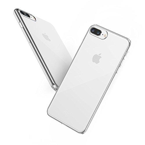 Moshi Superskin - Carcasa para iPhone 8/7 Plus (Muy Fina), Transparente