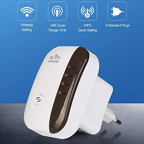 WiFi Extensor De Alcance Wireless Router WiFi Repetidor Wi-Fi Amplificador De Señal WiFi 300Mbps Booster 2.4G Wi Fi Ultraboost Punto De Acceso