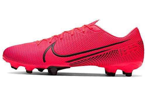 Nike Herren Vapor 13 Academy FG/MG Fußballschuhe, Rot (Laser Crimson/Black-Laser Crim 606), 47 EU