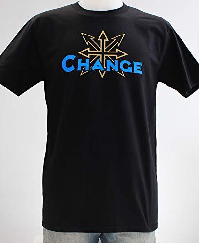 Chaos Change. Camiseta negra o azul chico: Amazon.es: Handmade