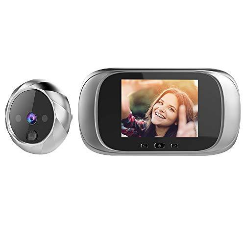 OWSOO Mirilla Digital con Pantalla LCD de 2.8 Pulgadas, Visor Mirilla Puerta,...