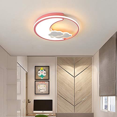 URAURORA LED plafondlamp Moderne kroonluchter Maan Design Energy Saving Flushmount plafondlamp voor slaapkamer, huis, decoratie van de kamer