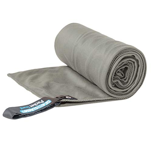 Sea to Summit Pocket Towel, Grey, X-Large