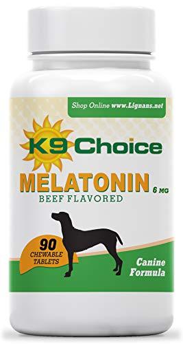 K9 Choice Melatonin 6 mg Beef Chewable