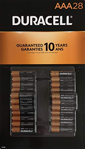 Duracell 1.5V CopperTop AAA Alkaline Batteries, 28 Pack