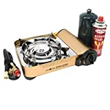 Gas ONE GS-4000P - Camp Stove - Premium Propane or Butane Stove with...
