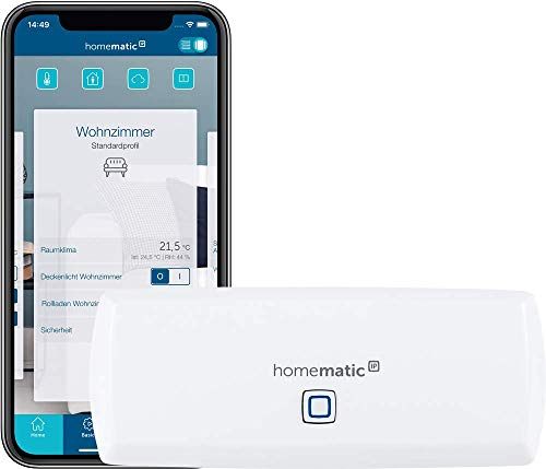 Homematic IP WLAN Access Point - Smart Home Gateway mit kostenloser App und Sprachsteuerung über Amazon Alexa, 153663A0
