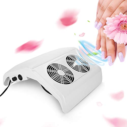 Professionele tafelstofzuiger voor manicure, 50 W, zuignappen voor nagel- en nagelstofzuigers