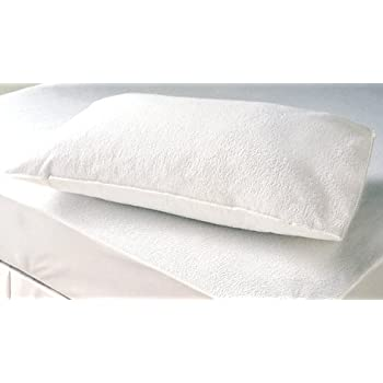 "Linenwalas Waterproof and Dustproof Pillow Protectors Set of 2 Pcs- King Size(20""X36"")"