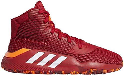 adidas Pro Bounce 2019 Shoe - Men's Basketball Power Red/White/Solar Orange