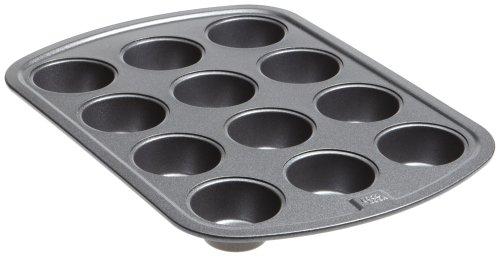 Good Cook Mini molde para magdalenas de 12 tazas.