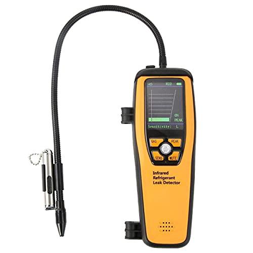 Elitech ILD-200NEW Professional Refrigerant Leak Detector Halogen Leakage Tester Checker 10 Years' Life Portable Case High Sensitivity - 1 Pack