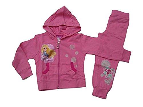 Chándal para Barbie, color rosa