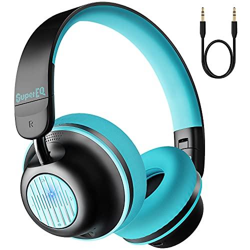 SuperEQ S2 Bluetooth On Ear Headphones
