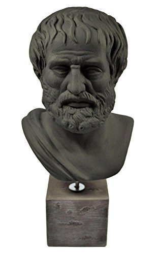 Aristoteles-Skulptur, Antike, griechischer Philosoph, Statue, Büste