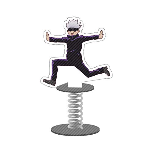 Jujutsu Kaisen Stehend Figur, Anime Action Figure Stehen Miniatur,Acryl Schreibtisch Ständer Miniatur Actionfigur für Heimbüro Dekoration Cartoon-Figuren Acryl-Ständer