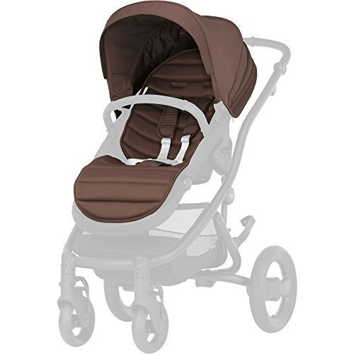 britax-romer 2000022984 Affinity 2 Colourpack Canopy Poussette, Wood Brown