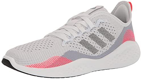 adidas Men's Fluidflow 2.0 Trail Running Shoe, Halo Silver/Iron Metallic/White, 7