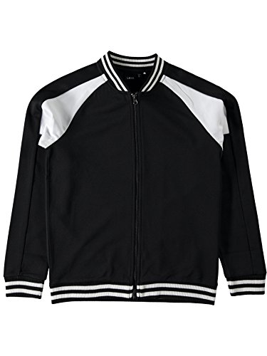 NAME IT Lmtd Blouson Bomberjacke Sweatjacke NITRANE Cardigan 13142395 Black Gr. 146/152