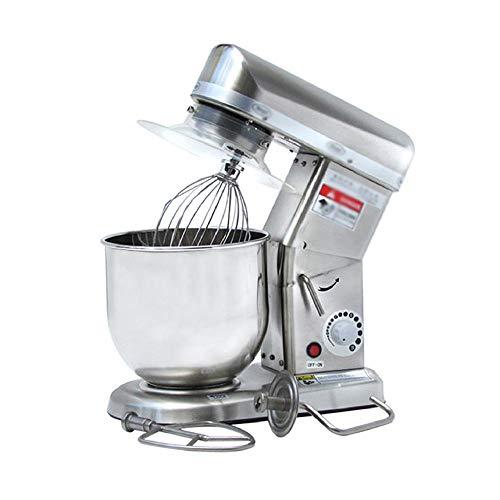 ZWHDS Blender – krachtige en elegante keukenmachine, levensmiddelen-blender 7 l mengkom keukenmachine met spatbescherming, garde, kneedhaken whisk