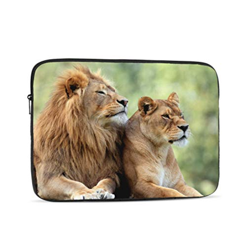 New MacBook Air Case Lion Standing On A Small HIL Case MacBook Pro 13 Multi-Color & Size Choices10/12/13/15/17 Inch Computer Tablet Briefcase Carrying Bag