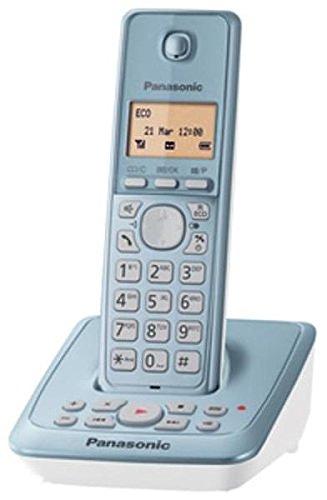 Panasonic KX-TG2721GC - Teléfono inalámbrico (pantalla de 1,4