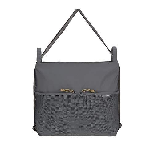 LÄSSIG Baby Kinderbuggytasche Kinderwagentasche Rucksack/Casual Conversion Buggy Bag anthracite