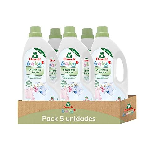 Frosch Detergente Baby Ecológico X Ud, Blanco, Manzanilla, 5 Unidad