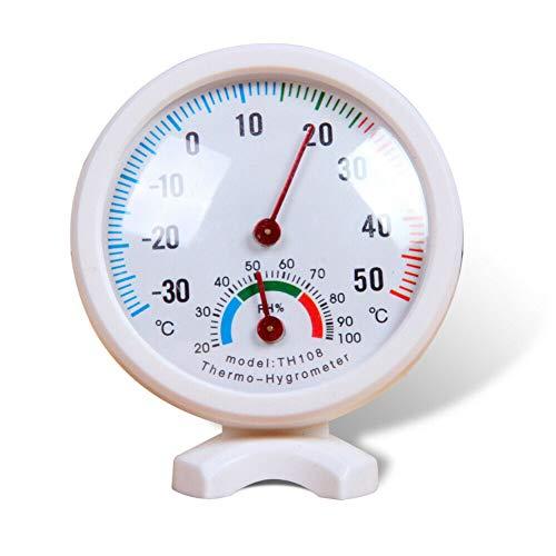 Wetter-Thermometer/Hygrometer für Terrasse, Wanddekoration, Babyzimmer, Gewächshaus