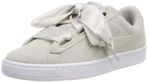 Puma Damen Suede Heart Galaxy WN's Sneaker, Grau (Gray Violet Silver), 39 EU