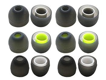 Zotech 6 Pairs of Ear Tips for Jaybird BlueBuds X X2 X3 & X4 Headphones  S/M/L