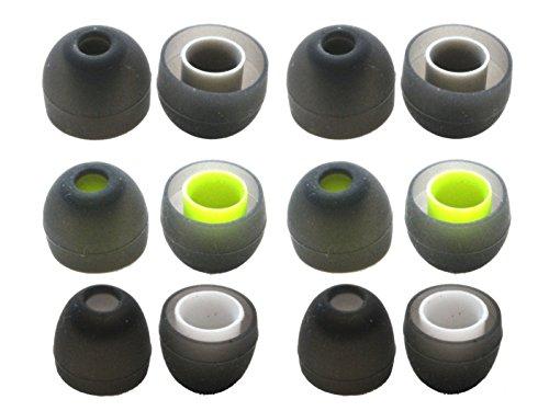 Zotech 6 Pairs of Ear Tips for Jaybird BlueBuds X, X2, X3 & X4 Headphones. (S/M/L)