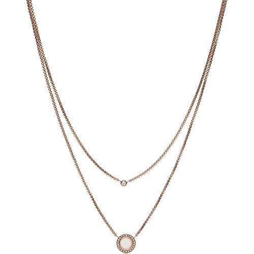 Fossil Damen Halskette Double Glitz JF03057791