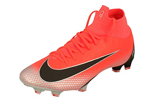 Nike Superfly 6 Elite CR7 AG Pro Heren Voetbalschoenen AJ3546 Soccer Cleats (uk 9.5 us 10.5 eu 44.5, flash crimson black 600)