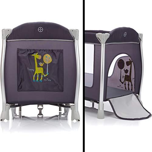 ALU Reisebett SET (inklusive Einhang Wickelauflage Spielbogen Matratze Tragetasche) Babybett Baby Kinder - 3
