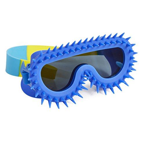 Bling2O Spiky Mohawk - Gafas para niños (antiniebla, sin fugas, antideslizantes y protección UV), diseño de punk rock