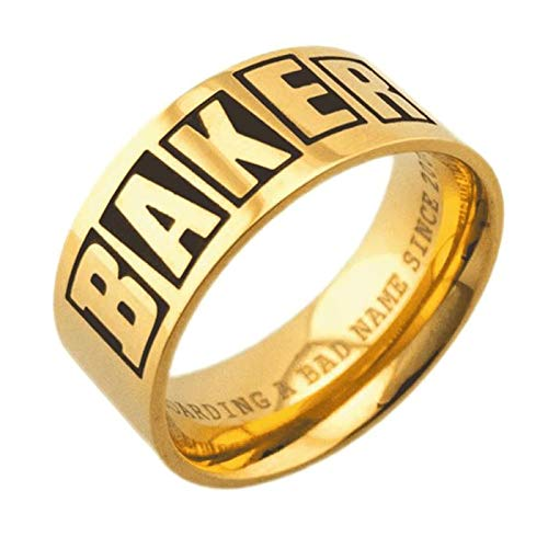 Baker Ring Logo Gold XS