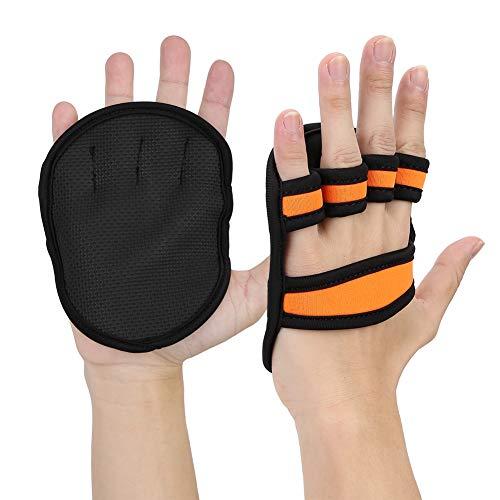 VGEBY 1 Paar Gewichtheben Handschuhe, Anti-Rutsch Gewichtheben Handschutz Handschuhe Sport Training Handschuhe für Fitness Gym Workout Deadlifts