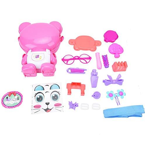 Mochila de maleta Juego de imaginación Gato de dibujos animados Casa de juguete Vajilla médica Maquillaje de ingeniería Rompecabezas creativo Juguetes para niños 🔥