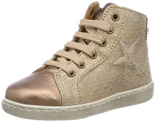 Bisgaard Mädchen Gaia Hohe Sneaker, Pink (Nude Square 720), 33 EU