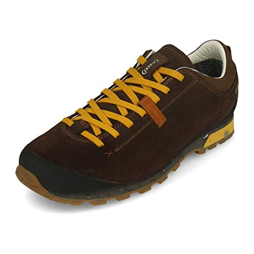 AKU Herren BELLAMONT 3 SUEDE GT Outdoorschuh, 305 , DARK BROWN/YELLOW , 45