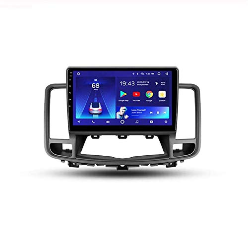HP CAMP Sat NAV Doppel-DIN-Auto-Stereo Radio für Nissan Teana J32 2008-2013 GPS Navigation Head Unit 9 Zoll-Digital-Multimedia-Player Videoempfänger DSP RDS,4 core,WiFi 1G+16G