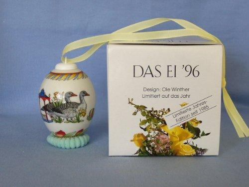 Hutschenreuther - Das Ei 1996 - Jahresei Porzellan - NEU