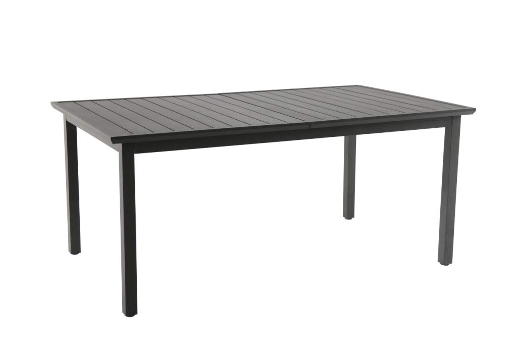 resol Mesa de jardín Exterior Rectangular Extensible Rodas 100x173/252 - Color Gris Oscuro: Amazon.es: Jardín