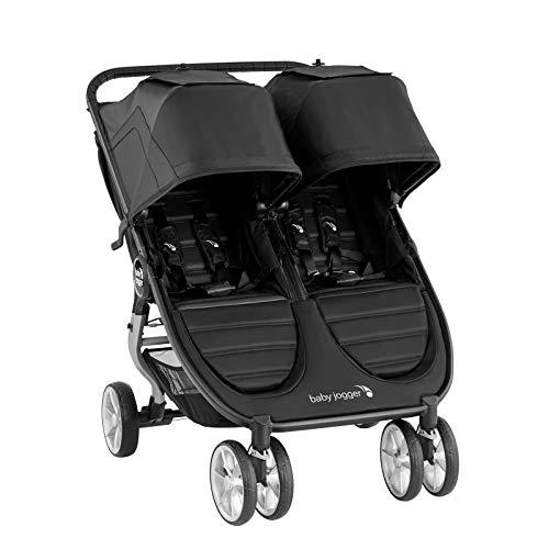 Baby Jogger Cochecito City Mini2 Double – Jet – 14,4 kg