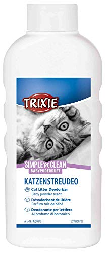 Trixie 42406 Simple'n'Clean Katzenstreudeo, Babypuderduft, 750 g