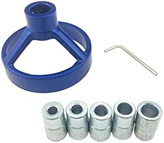 Imcolorful Aluminium Alloy Woodworking Drill Guide Drilling Positioner Boring Vertical Fixtures