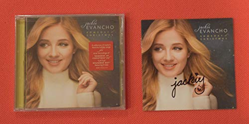 Jackie Evancho Signed Autographed Someday At Christmas Booklet w/New Sealed CD